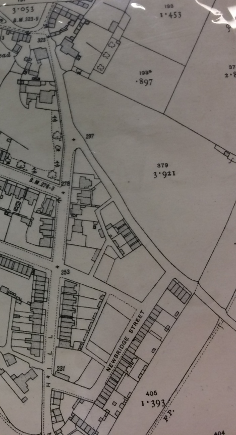 1919 showing Prospect Road etc  and The Wagon works