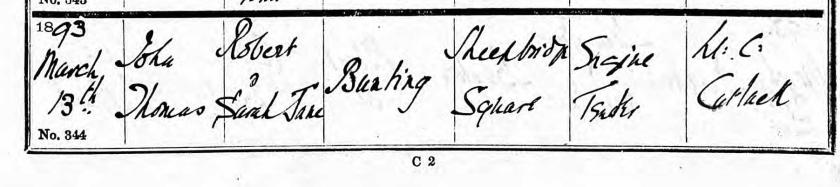 baptism 1893