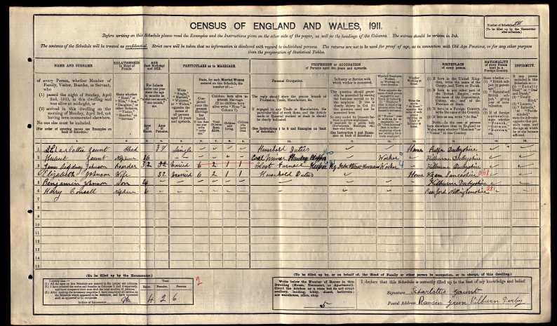 1911 census kilburn