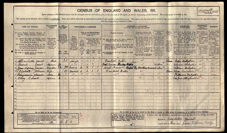 1911 census kilburn