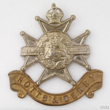 cap badge sherwoods