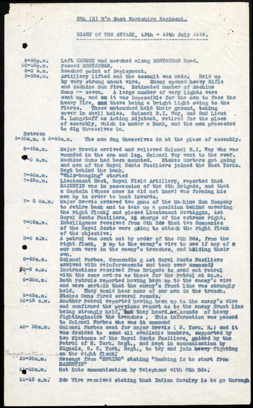 war diary print2