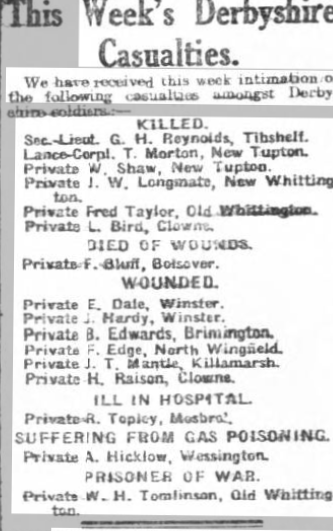 roll of honourcourier25apr1916