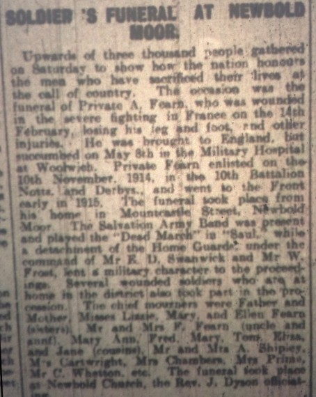 D TIMES FUNERA MAY 20 1916