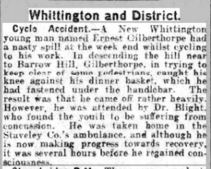 courier 20 aug 1912cycle accident best