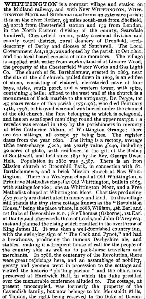 1st description of whittington