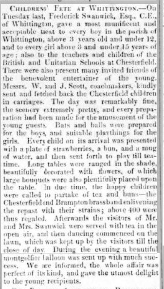 childrens fete d courier 17 July 1847