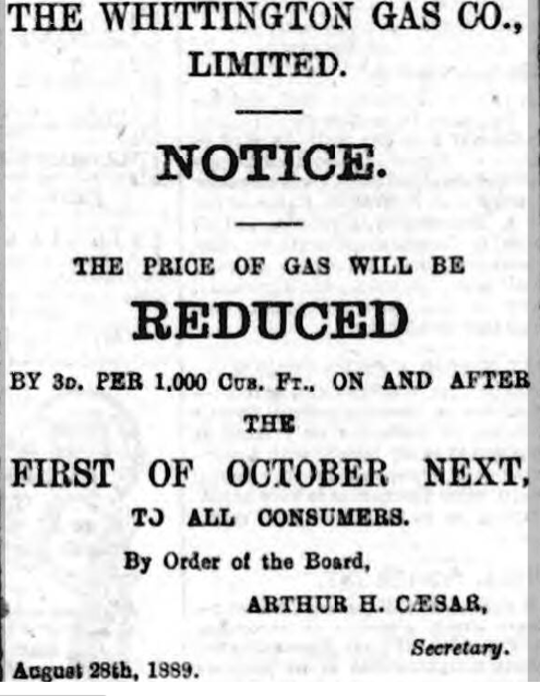 price cutdcourier 19 oct 1889