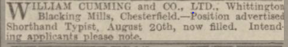 sheff daily telegraph 22 aug 1931