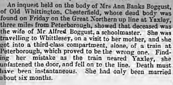 leamington spa courier 27 May 1876