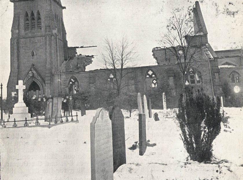 oldwhitt church burnt down 1895 derbysvch